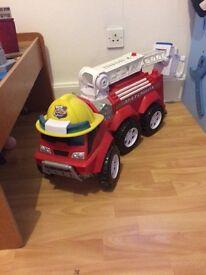 Large fire engine