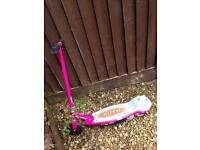 Girls pink electric scooter RAZOR