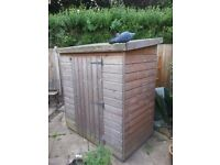 Small garden shed / tool storage.
