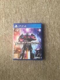 PS4 Game Transformers Rise of the Dark Spark