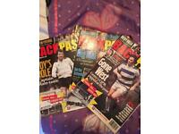 39 retro backpass football magazines