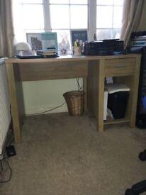 Oak office desk for sale