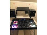 Pionner ddj sx2 and speakers