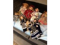 Porcelain pot dolls