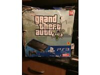 PlayStation 3 with grand theft auto game