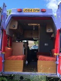 LDV converted Ambulance Camper