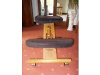 Posture Wooden Kneeler Chair