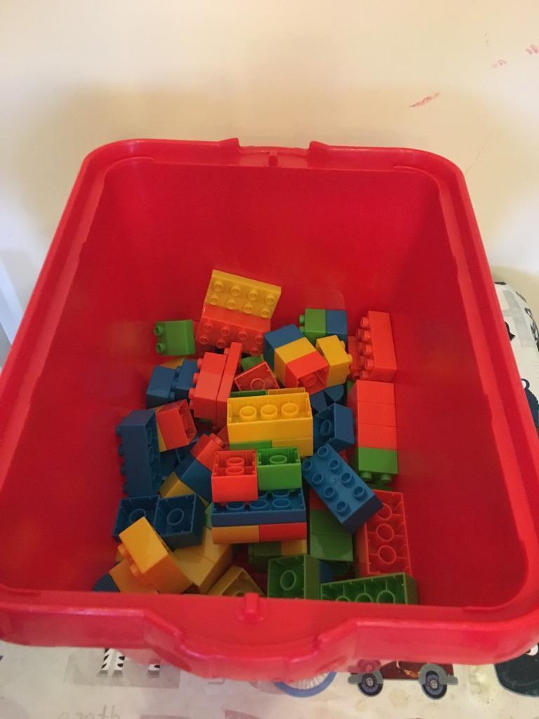 Box Of Duplo Lego Bricks In Seaton Delaval Tyne And Wear Gumtree