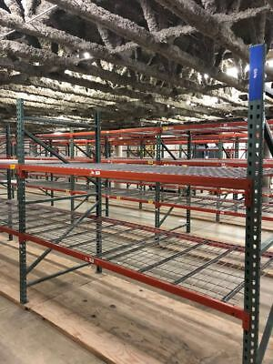 Pallet Racks Racking Shelves Storage Warehouse Heavy Duty 30dx8hx8l