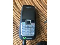 Nokia 2610 mobile phone with charger
