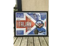 Italian Job film poster - framed