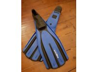 Long fins - Mares Avanti Tre - Ideal for long dives or free diving
