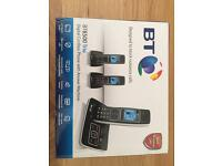 BT Trio Digital Cordless Phones.