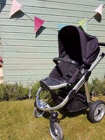iCandy Apple Pushchair & Carrycot - Very Good Condition