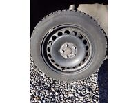 4 Ford winter wheels and tyres 7+mm