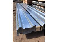 Galvanised box profile metal roof sheets