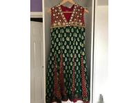 Indian Bollywood anarkali suit