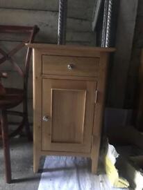 Oak cabinets bedside cabinet