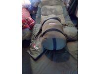 Adavanta sleeping bundel nash s5alarms fox ers sleeping bag fox bed chair cover dawia whigh pod