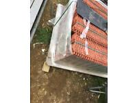 130 Redland 49 roof tiles smooth 382mm x 226mm