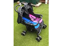 Joie Aire Double buggy pram - only 5 months old