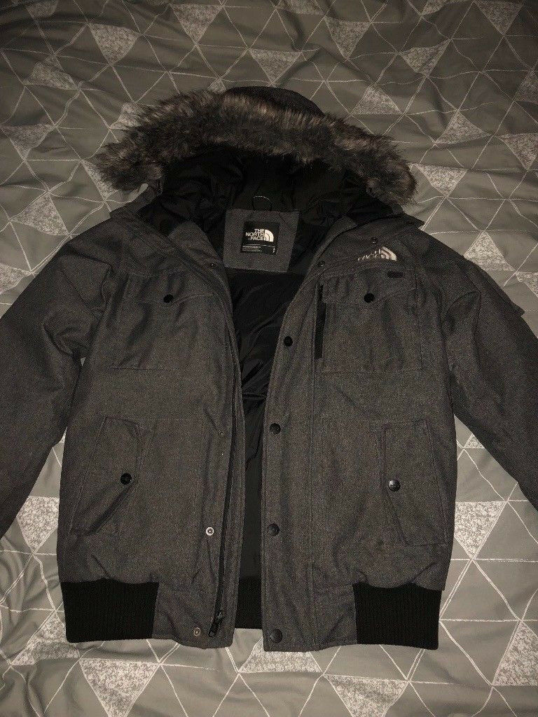 Mens North Face Gotham 550 Fill Goose Down Jacket Size Small Medium