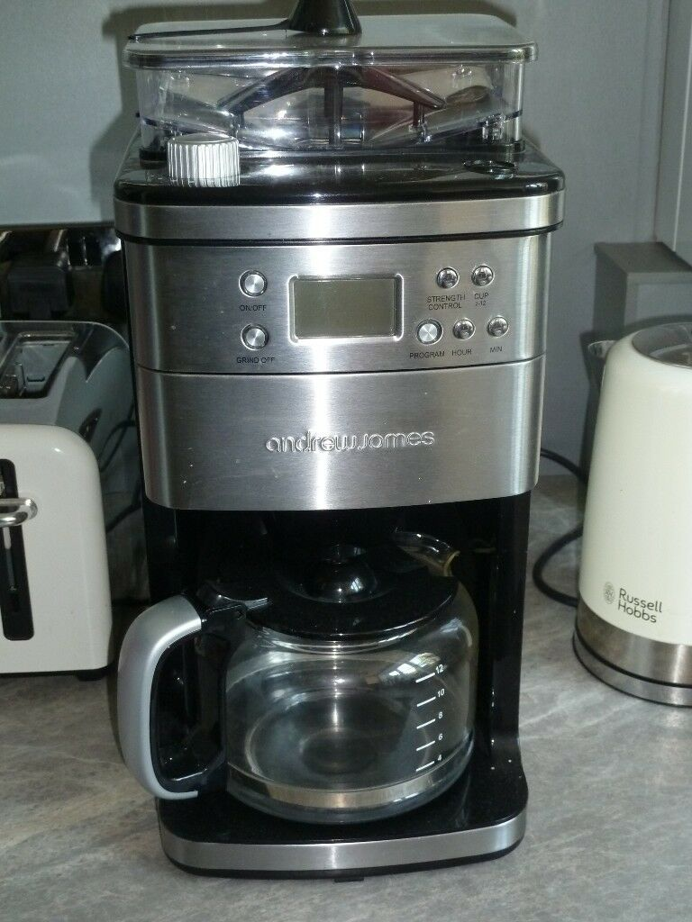 Andrew James Filter Coffee Machine With Integrated Grinder In Dorchester Dorset Gumtree