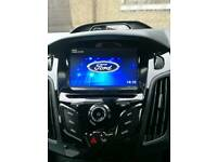 Ford focus inbuilt sat nav/dvd/radio