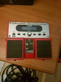 Boss vocal effects pedal