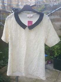 Next lace top 12P new
