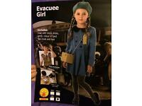 Evacuee girls costume