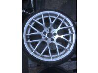 Bmw 19'' E60 E61 E46 E90 E91 CSL Spare Single Wheel Can Post
