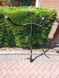 tow bracket bike carrier