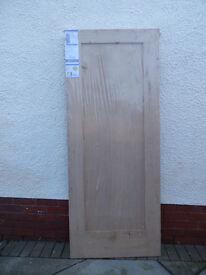 NEW UNUSED OAK VENEER DOOR 2040 X 826