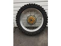 Off road motorcycle wheels