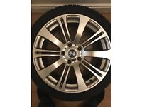 18 inch BMW M sport Wheels and tyres