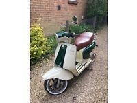 Stunning condition Lambretta LN125 along with numerous spare parts