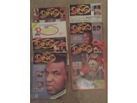 Boxing old magazine