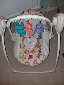Chad Valley Baby Swing/ Rocker - never used mint condition