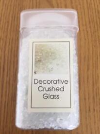 Decorative crushed glass
