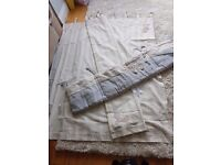 Once upon a time Nursery Curtains and cot Bumper