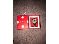 Cath Kidston rose gold watch