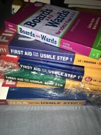 USMLE medical books for sale