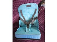 Baby portable booster highchair seat