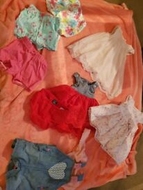 Baby girl bundle of 0-3 month clothes