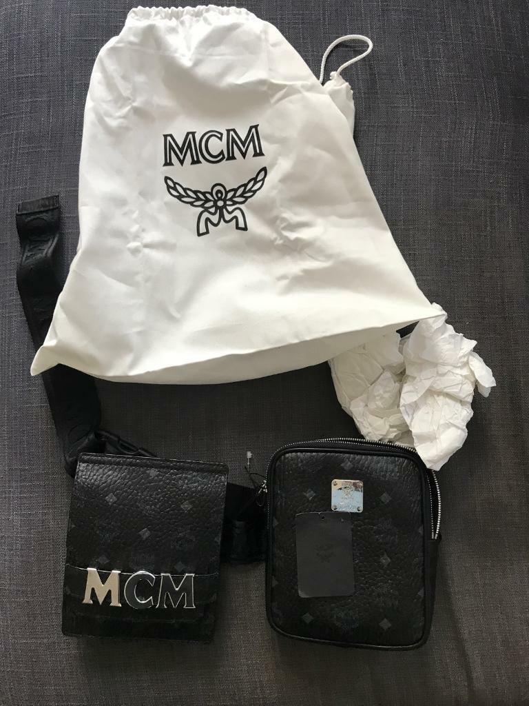 a6f4ab0c8d48 Brand New MCM stark modular belt bag in Visetos (double shoulder bag) !