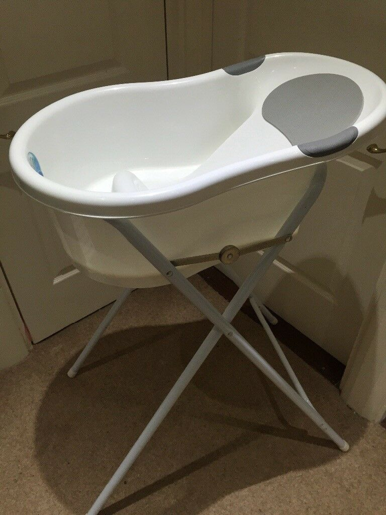 Baby bath and stand | in Undy, Monmouthshire | Gumtree