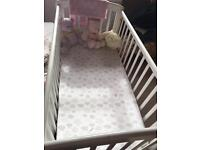 Cot for sale good condition used as grandparents house