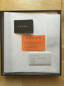 CROSS leather iPad Case with Chrome Tech2 Dual-Function Stylus Pen - Brand New - BARGAIN!!!
