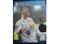New FIFA 18 ps4